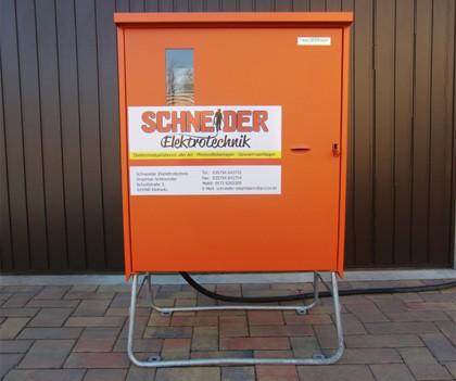 verteilerkasten Schneider